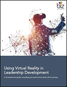 Using Virtual Reality in Leadership Development- a comprehensive guide first page border